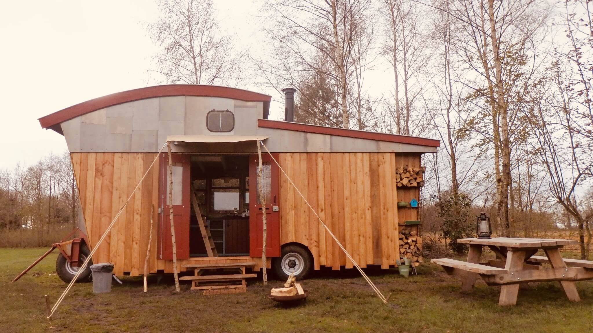 Tiny House huren Tralaluna