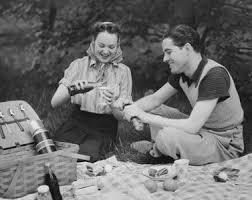 picknick uitje met oma